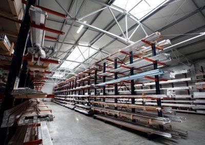 Magazyn Centrum Dystrybucji Aluminium TOMBIG